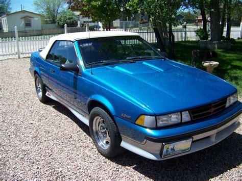 Find Used 1989 Chevrolet Cavalier Z24 Convertible 2door 2