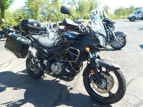 2012 Suzuki V-strom 650 Abs Adventure Motorcycle From Big