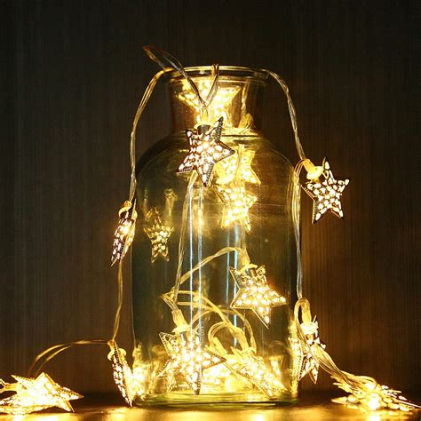Deko Lichterkette Innen by Led Au 223 En Innen Draht Lichterkette Weihnachtsbeleuchtung