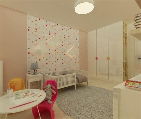 papier peint chambre bébé design interieur déco murale chambre bébé papier peint