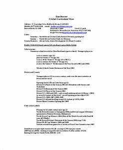 Professional basketball player resume sample volleyball for Professional basketball player resume template