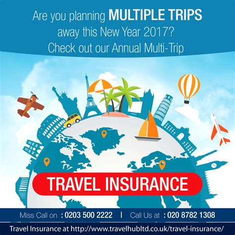 travel insurance single trip multiple countries