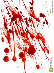 Tache De Sang : taches de sang clabouss es sur le fond blanc photo stock ~ Melissatoandfro.com Idées de Décoration