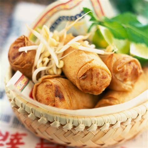 plat cuisiné au four nems au four facile et pas cher recette sur cuisine