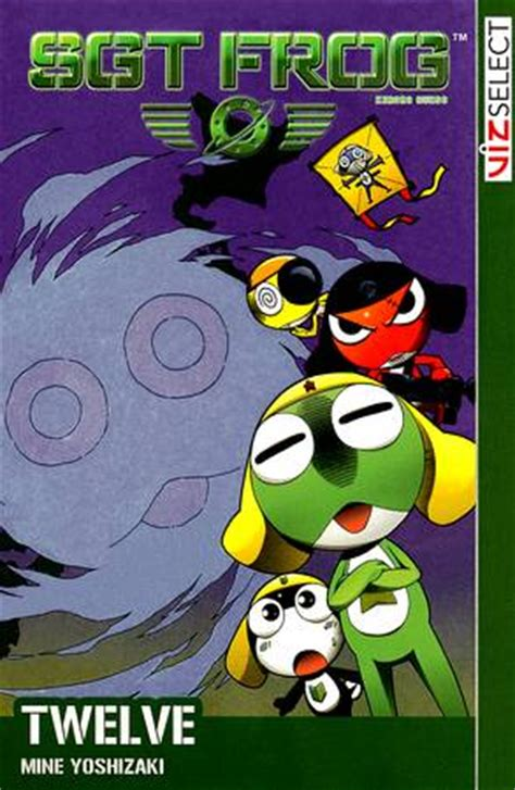 viz read a free preview of sgt frog vol 8