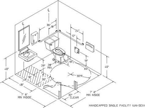 toilet size requirements single user ada unisex toilet room k building codes and specs pinterest toilets design