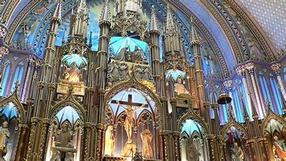 Catholic Medieval Altar Europe France Cathedral Notre