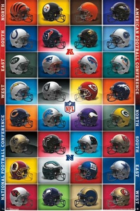 nfl national football league teams helmet logo mascot