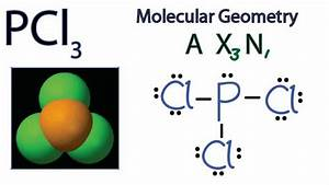 Pcl3 Molecular Geometry    Shape And Bond Angles
