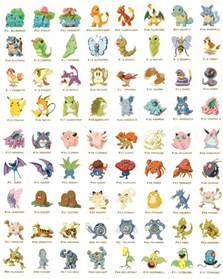 all pokemon characters by jarino