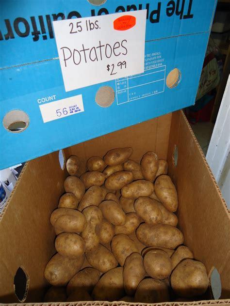 dehydrating potatoes