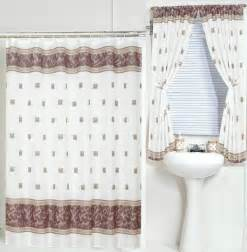 shower curtains with matching window curtains gray