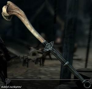 Skyrim: Dawnguard – Драконье оружие (Dragonbone Weapon ...