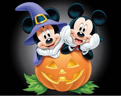 Halloween Mickey Minnie Mouse Disney Happy Wallpapers