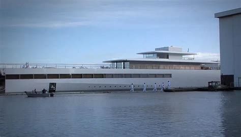 Yacht Jobs Uk by Iyacht Boat Designed By Steve Jobs Finally Finished