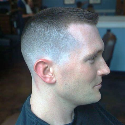 military hairstyle  men