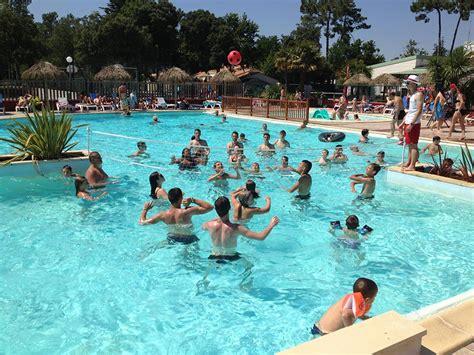 animation jean de monts cing avec grande piscine chauff 233 e toboggan vend 233 e