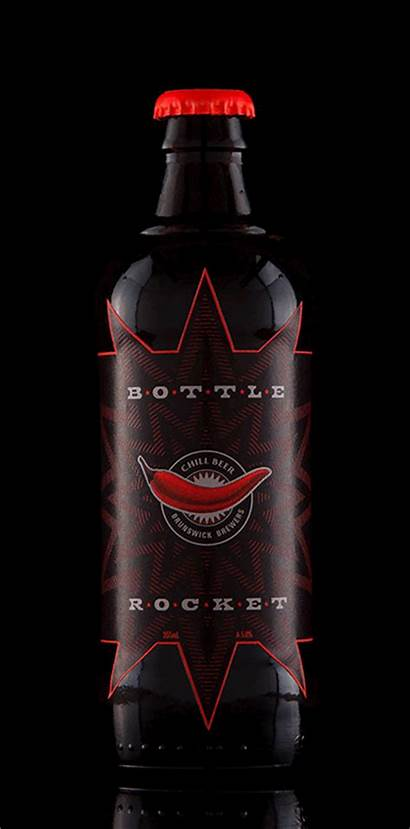 Bottle Beer Rocket Project Chili Infused Student