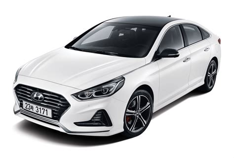"Refreshed 2018 Hyundai Sonata ""new Rise"" Gets First"