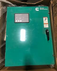 New 125 Amp Cummins Automatic Transfer Switch Oteca 208v