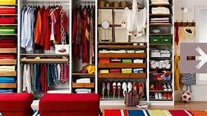 Ranger Son Dressing : rangement un dressing ma mesure c t maison ~ Melissatoandfro.com Idées de Décoration