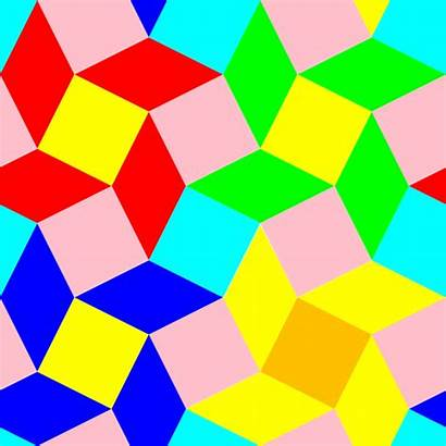 Pattern Diamond Squares Special Clip Clipart Filled