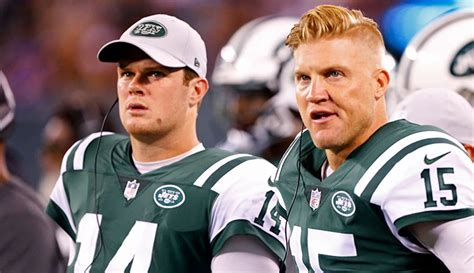 jets qbs slick  hair  perfect unison