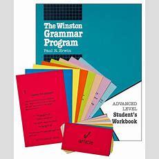Advanced Winston Grammar Student Pack (004689) Images  Rainbow Resource Center, Inc
