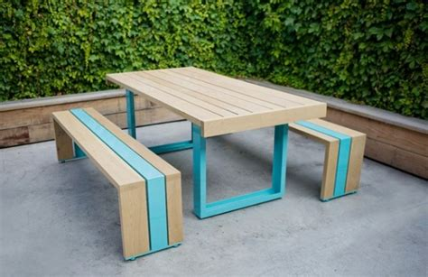 cool outdoor tables simple outdoor furniture made of white oak sr white oak table set home building furniture