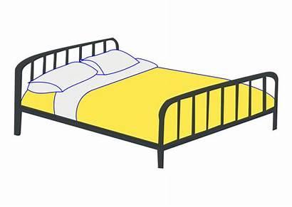 Bed Lit Clipart Double Letto Dubbel Bild