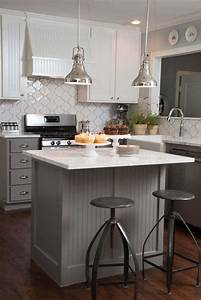 Petit Ilot Cuisine : petite cuisine avec lot central ou bar 24 id es d ~ Premium-room.com Idées de Décoration