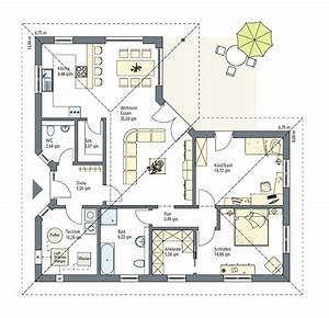 Grundriss Bungalow 100 Qm : grundriss bungalow 120 qm zusammen mit herrlich zuhause akzent ~ Frokenaadalensverden.com Haus und Dekorationen