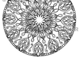 Sacred Geometry Coloring Pages - Eskayalitim