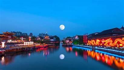 River Qinhuai Bing China