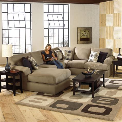 Ottomans come in various sizes and. 10 Best Coffee Table For Sectional Images