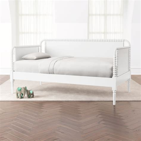 jenny lind white daybed reviews crate  barrel