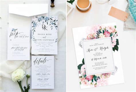 style desain undangan pernikahan  menarik