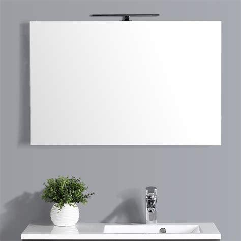 Miroir Salle De Bain Led Miroir Lumineux Salle De Bain 90 Cm Avec Applique Led
