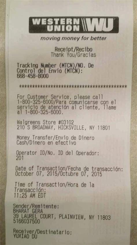 fake western union receipt generator beautiful western