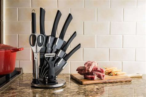 Imperial Kitchen Knives by Imperial Collection Professional Kitchenware 9 Set