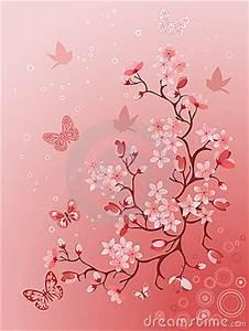 Tatouage Arbre Japonais : cerisier japonais photos libres de droits image 12913728 ~ Melissatoandfro.com Idées de Décoration