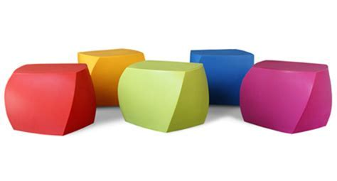 Frank Gehry Original Heller Twist Cubes, Multi Colored: NOVA68.com