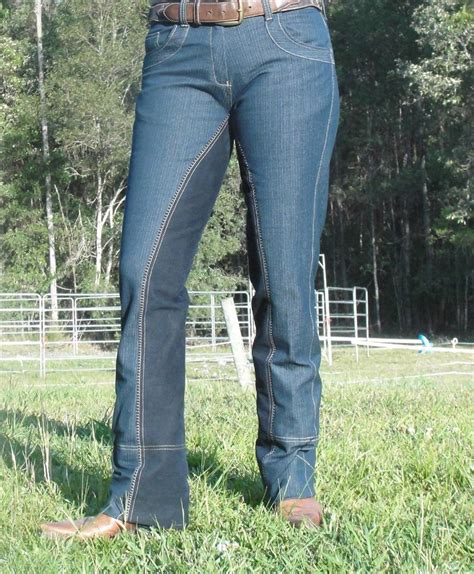 riding jeans pants jodhpurs denim sticky bootcut bum stretch rider equestrian westernstyle sell outdoor yourself