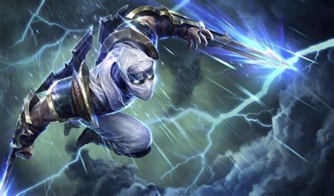 League Of Legends Bladestorm Zed Wallpaper