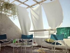 Vorhang Für Balkon : 77 praktische balkon designs coole ideen den balkon ~ Watch28wear.com Haus und Dekorationen
