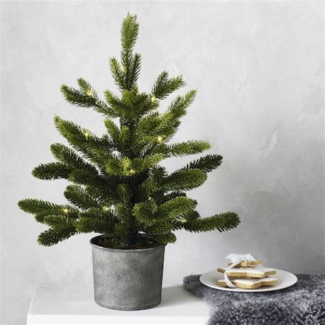 best tabletop christmas tree 2018 16 of the best artificial trees in the uk and where to buy them