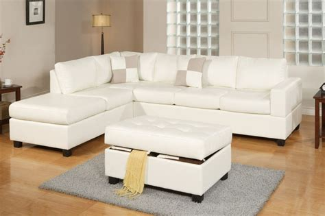 hton leather reversible sectional and storage ottoman sofa modern cream leather sectional sofa reversible chaise