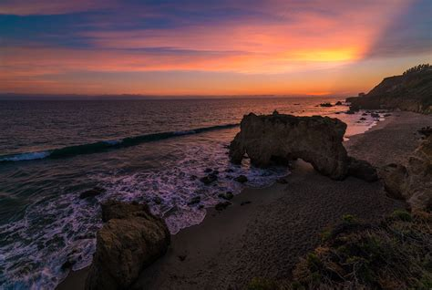 El Matador State Beach Malibu's Megastar  Travel Caffeine