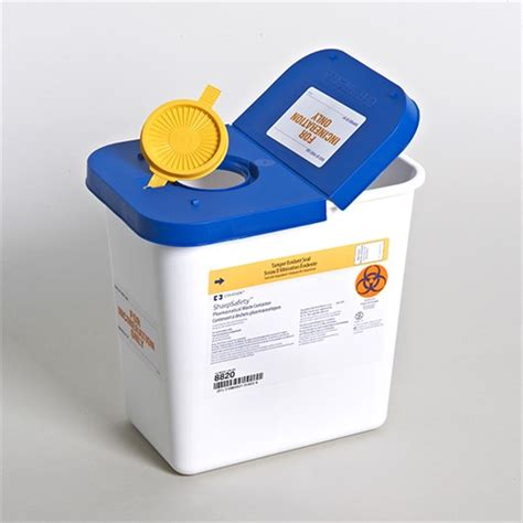 gallon covidien pharmaceutical waste container stericycle