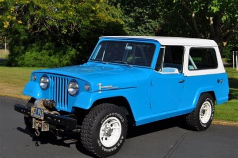 jeep jeepster for sale 1969 jeep commando jeepster v6 for sale